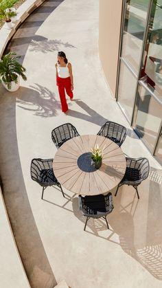 Cafe Furniture, Backyard, Patio, Dining Set, Garden Inspiration, Provence, Beach Mat, Modern Design, Armchair