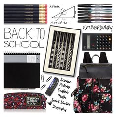 """""""in my backpack"""" by friendlyfebruary ❤ liked on Polyvore featuring interior, interiors, interior design, home, home decor, interior decorating, Madden Girl, Kate Spade, Sharpie and Braun"""