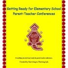 Complete Guide to preparing for elementary school Parent-Teacher Conferences. Packet includes everything you need to get ready for conferences and ...
