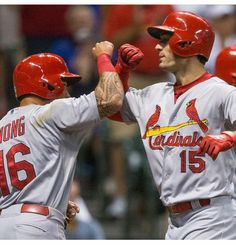 MILWAUKEE (AP) — Lance Lynn had trouble throwing his fastball for strikes Friday night. He was still good enough to shut down the Milwaukee Brewers. Randal Grichuk h Cardinals Game, Cardinals Baseball, St Louis Cardinals, Randal, Great Team, Lineup, Pitch, Past