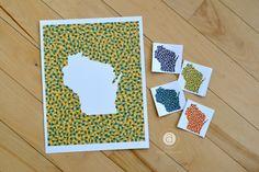 abigail hausman | graphic designer | wisco illustrations Wisconsin, Graphic Design, Illustrations, Illustration, Visual Communication, Illustrators