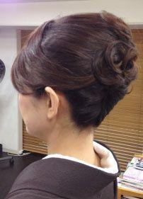 キリッとキレイ夜会巻の画像(1) | 阪急十三・三国・淡路の美容室 hair equalのヘアスタイル | Rasysa(らしさ)