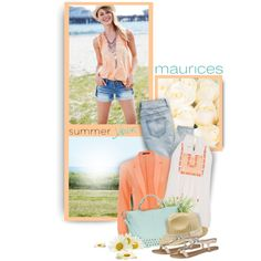 maurices Contest: Summer Lovin' by mrsjillc on Polyvore featuring maurices
