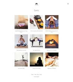 Yoga website created without WordPress Own Website, Create Website, Wordpress, Yoga, Beautiful