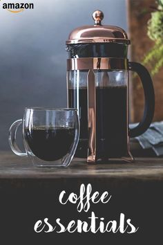 Coffee Press - Need a morning pick-me-up? Make your coffee in style.