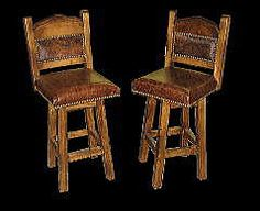 Southwest and western bar stool benches