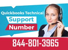 Get Quickbooks technical support assistance by our tech experts. Call our quickbooks customer helpline tollfree number 844-801-3965 now to get immediate support
