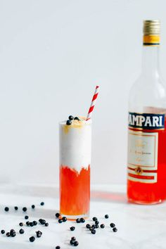 The negroni float