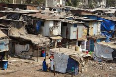 It was filmed in Dharavi, one of the world's largest, densest slums.