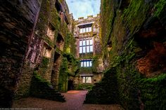 Berry Pomeroy Castle in England -