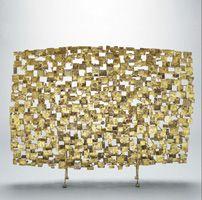 sculptural screen, Harry Bertoia