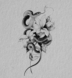 Tattoo Character, Dark Tattoo, Snake Tattoo, Mandala Tattoo, Black And Grey Tattoos, Tattoo Drawings, Blackwork, Tatting, Tattoo Designs