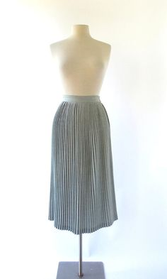 Vintage 40s Skirt / Accordion Pleated Skirt / by SmallEarthVintage