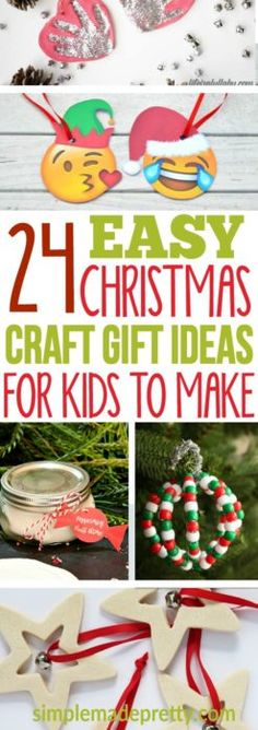 Christmas Presents For Grandparents, Christmas Crafts For Kids To Make, Diy Gifts For Kids, Christmas Crafts For Gifts, Kids Christmas, Craft Gifts, Diy For Kids, Holiday Gifts, Christmas Ornaments