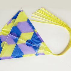 Waxed Paper Diamond Kite Kit