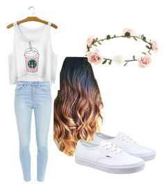 """Untitled #30"" by j-razo on Polyvore featuring Accessorize, Vans, Paige Denim, women's clothing, women's fashion, women, female, woman, misses and juniors"