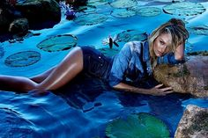 Candice Swanepoel Gets Sultry for Forum Spring 2015 Campaign
