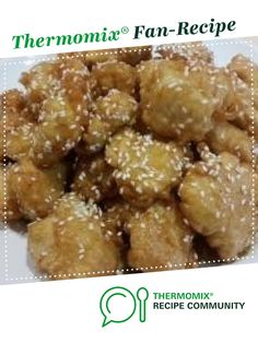Recipe Chinese Honey Chicken by MrsQ, learn to make this recipe easily in your kitchen machine and discover other Thermomix recipes in Main dishes - meat. Cheddarwurst Recipe, Chicken Recipes Thermomix, Cooking Recipes, Szechuan Recipes, Asian Recipes, Chinese Honey Chicken, Mulberry Recipes, Recipes