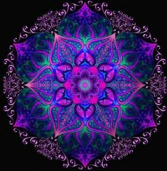 Image shared by Gabii. Find images and videos about color, space and mandala on We Heart It - the app to get lost in what you love. Most Beautiful Images, Crop Circles, Mandala Painting, Visionary Art, Mandala Pattern, Fractal Art, Fractal Images, Psychedelic Art, Sacred Geometry