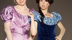 """Ravishing""- Jokes & nice sets - the California-Trash- version of Downton Abbey"