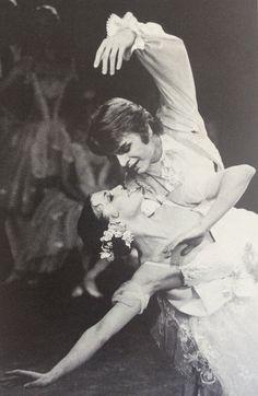 Gelsey Kirkland and Mikhail Baryshnikov in 'Coppélia' ABT Shall We Dance, Lets Dance, Mikhail Baryshnikov, Vintage Ballet, Ballet Theater, Dance Fashion, Dance Art, Dance Photography, Street Artists