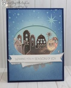 Stampin' Up! Night in Bethlehem for Fab Friday – Stamp With Amy K