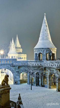 Winter.. Budapest, Hungary (by zpzfoto on Flickr)