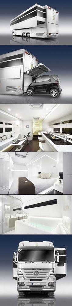 Les gustaria tener esta casa móvil?