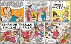 Asterix - Jumaltenrannan nousu ja tuho. #sarjakuva #sarjis #egmont #rooma