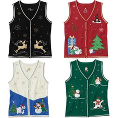 white stag christmas sweater vest choose your favorite style women walmartcom - Christmas Sweater Vest