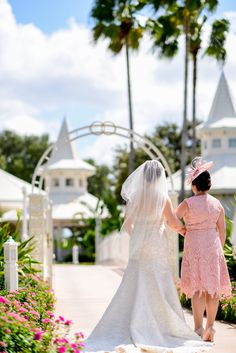 This mother of the bride portrait at Disney's Wedding Pavilion warms our hearts
