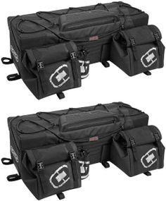 Ogio ATV Honcho Bag Rear Stealth (Black) 119003.36 TR Rigid construction holds shape when empty. Zipper-less main compartment opening for ease of access. Convenient, quick access buckles. Multiple internal compartment storage with collapsible divider partition. Dust Gasket seal protects inside contents from rain, dust, mud and snow.  #OGIO #Automotive_Parts_and_Accessories