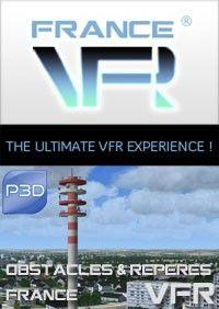 FRANCEVFR : Obstacles & VFR Landmarks v3 FRANCE P3Dv4