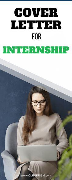 Cover Letter for Internship - #CoverLetter #Internship #JobSearch