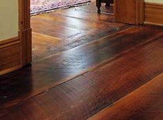 """Dirty Top"" or ""Original Face"" Reclaimed Wood Floor - Heart Pine"