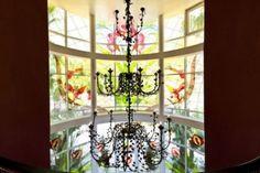 windows @  luxury villa  in Cascade de Camojan, Golden Mile, Marbella, Spain.