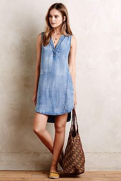 Seawashed Tunic Dress - #anthrofave