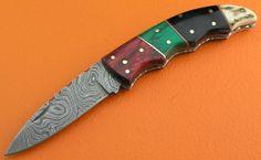 Custom 100 Handmade & Forged Damascus Steel by SanaCutlery on Etsy, $49.99