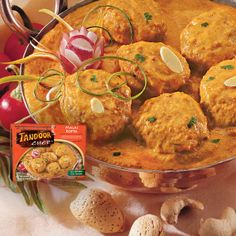 #MalaiKofta - Neatballs! Your #vegetarian answer to flavor! A delicious, savory veggie entrèe in a rich, mildly spiced sauce. A northern Indian specialty from #TandoorChef! #Meatless