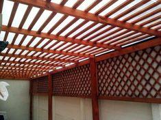 Pergola Ideas For Small Backyards Info: 9239636028 Cedar Pergola, White Pergola, Deck With Pergola, Covered Pergola, Backyard Pergola, Patio Roof, Small Pergola, Pergola Cover, Patio Bar