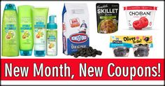 New Month, New Coupons! Save on Campbell's, Land O Lakes, Chex, Listerine & More!
