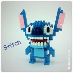 nanoblock Stitch .. http://fb.inanoblock.com for more