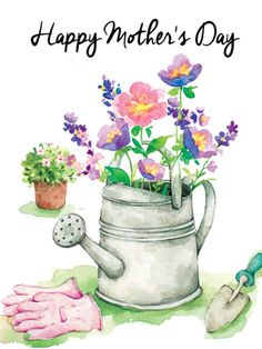 8 Charming Tips AND Tricks: Garden Tool Storage Tips garden tool pictures.Garden Tool Shed Design. Watercolor Cards, Watercolor Illustration, Watercolor Flowers, Watercolor Paintings, Watercolour, Garden Tool Organization, Garden Tool Storage, Decoupage, Garden Art