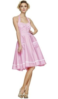 Hell Bunny Dress - gorgeous but even pinker in real life.