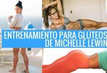 Michelle Lewin y su entrenamiento para glúteos