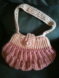 Peachy punkin bottom bag