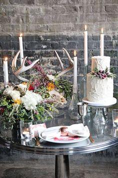 Wedding Deer Skull Decor
