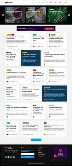 Gridlove is a creative grid style #WordPress theme with a focus on #newspaper and magazine websites #webdesign with many predefined layouts download now➩ https://themeforest.net/item/gridlove-creative-grid-style-news-magazine-wordpress-theme/17990371?ref=Datasata