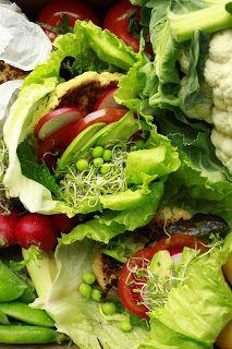 Delicious blog: Květákovo-cizrnové burgery