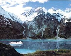 Cruise through Alaska.